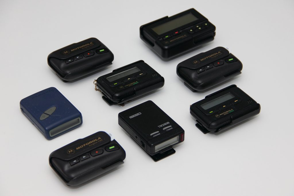 Collection of pagers