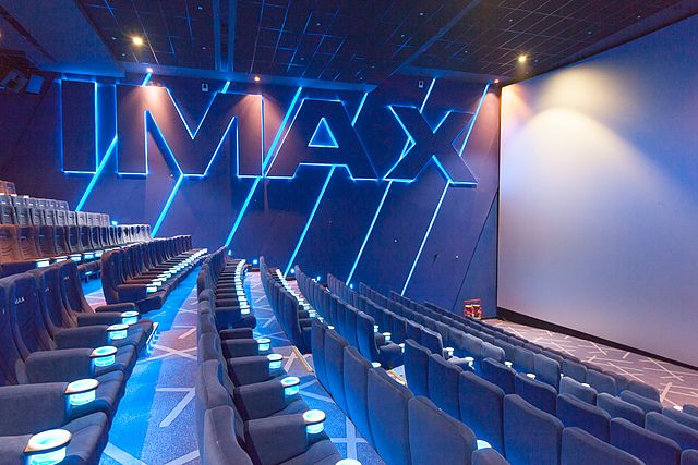 IMAX movie theatres